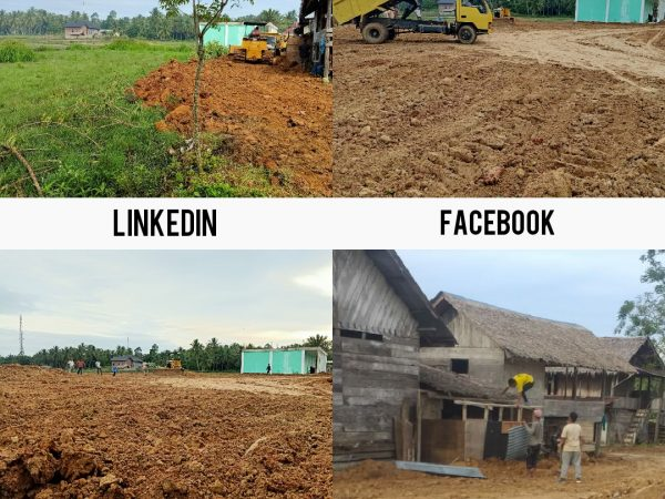 Penimbunan Lahan Dayah Nuris Untuk pembangunan Ruang Praktik Siswa SMKS Nuris Jurusan Tata Busana