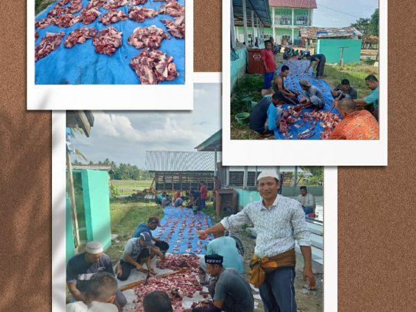 Yayasan Dayah Nurul Islam 13 ekor kambing dan 1 ekor lembu untuk yatim dan kurang mampu